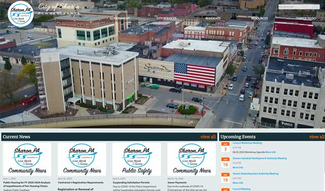 Case Study image - City of Sharon, Pennsylvania